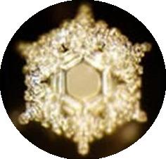 Masaru Emoto - cristal d'eau soumis à